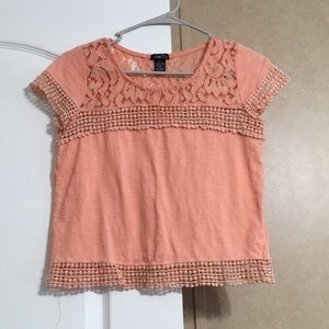 Rue 21 Size Small Dainty Peach Color Top